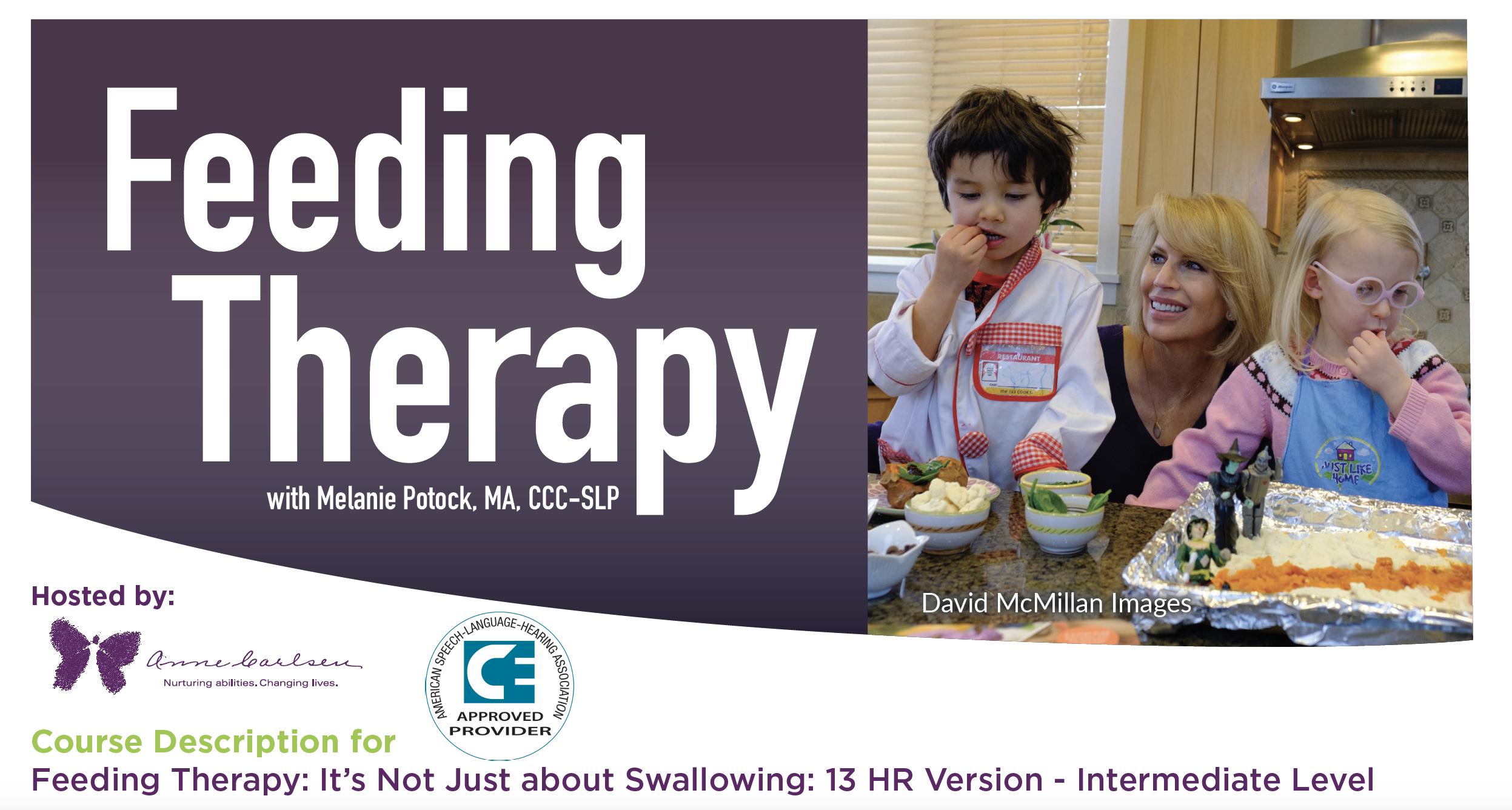 Feeding Therapy Event with Melanie Potock