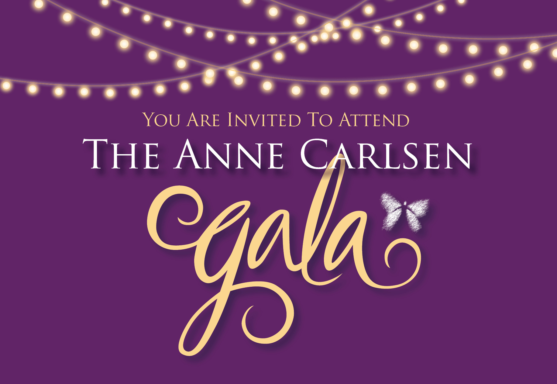 The Anne Carlsen Gala Event Cover