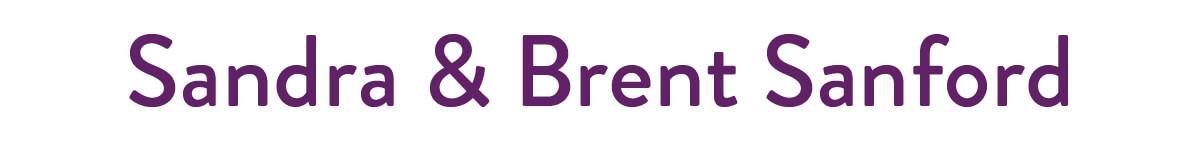 Sandra & Brent Sanford Logo