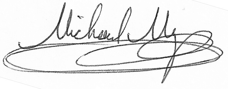 Mike Meyer signature